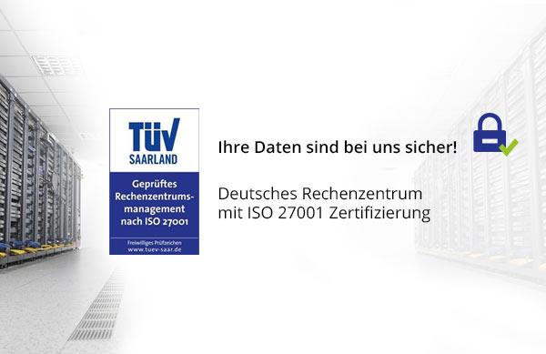 Sicherer Datenschutz mit ISO 27001 Zertifizierung