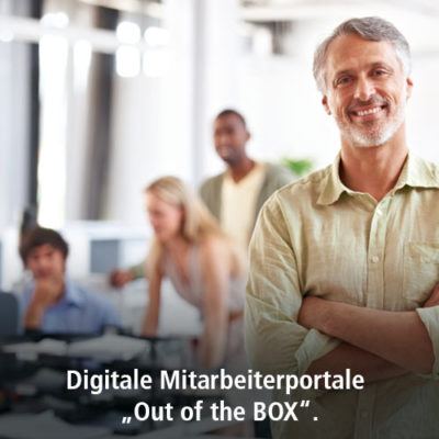 "Digitale Mitarbeiterportale ""Out of the BOX"""