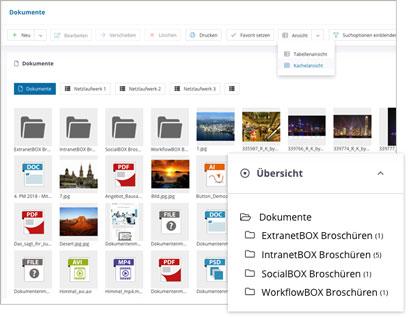 Intranet Social Software Modul Dokumente