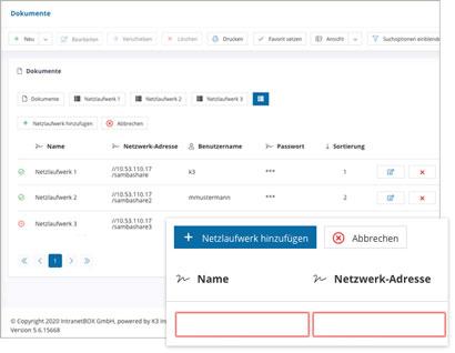 Social Intranet Modul MS File-Server-Konnektor