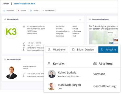 Intranet Social Software Modul Firma
