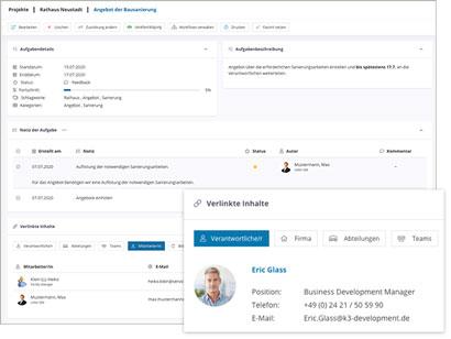 Intranet Social Software Modul Aufgaben