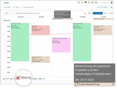 Intranet Social Software Modul Kalender